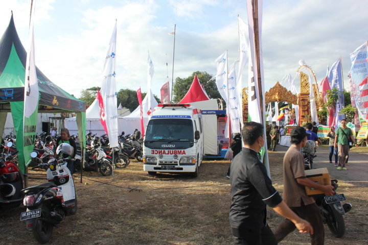 bimc support for Sanur Village Festival
