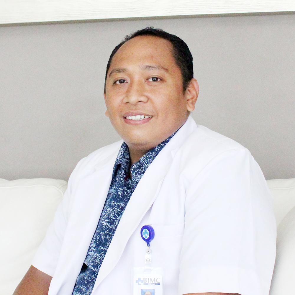 dr. I Wayan Wahyu Sutrisna, M.Biomed, Sp.B (General Surgeon)