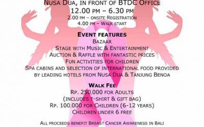 Bali Pink Ribbon Walk