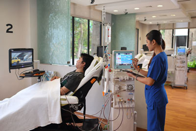 Dialysis in paradise
