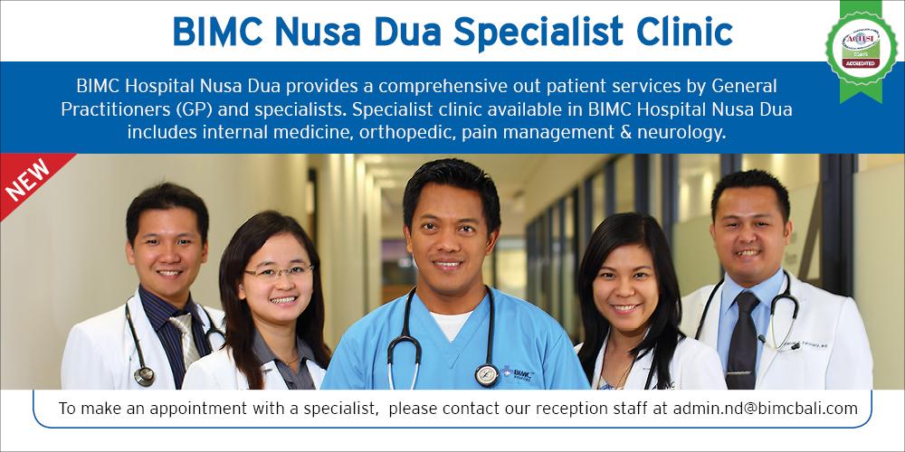 BIMC Nusa Dua SPecialist Clinic