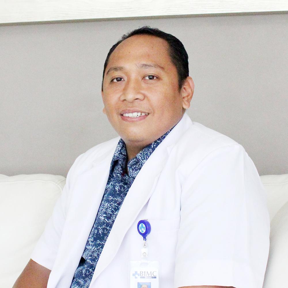 dr. I Wayan Wahyu Sutrisna, M.Biomed, Sp.B (General Surgeon)