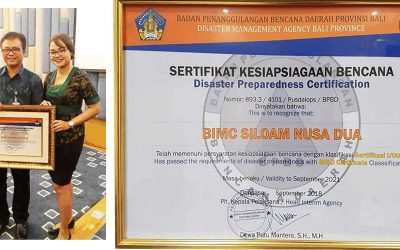 First hospital in Bali Certified for Disaster Preparedness - BIMC Siloam Nusa Dua