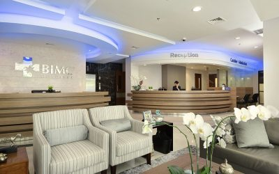 Hospital in Bali : BIMC Siloam Nusa Dua Reception-area