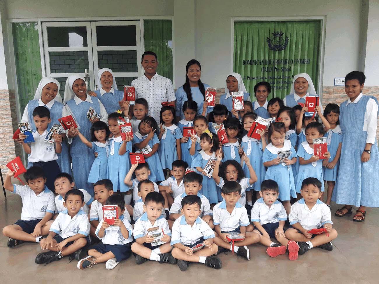 BIMC Nusa Dua Distributes First Aid Kits