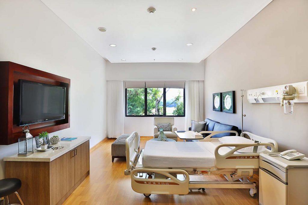 Rumah Sakit bali BIMC Siloam Hospital rawat inap Presidential Room