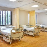 Rumah Sakit bali BIMC Siloam Hospital rawat inap Shared Room