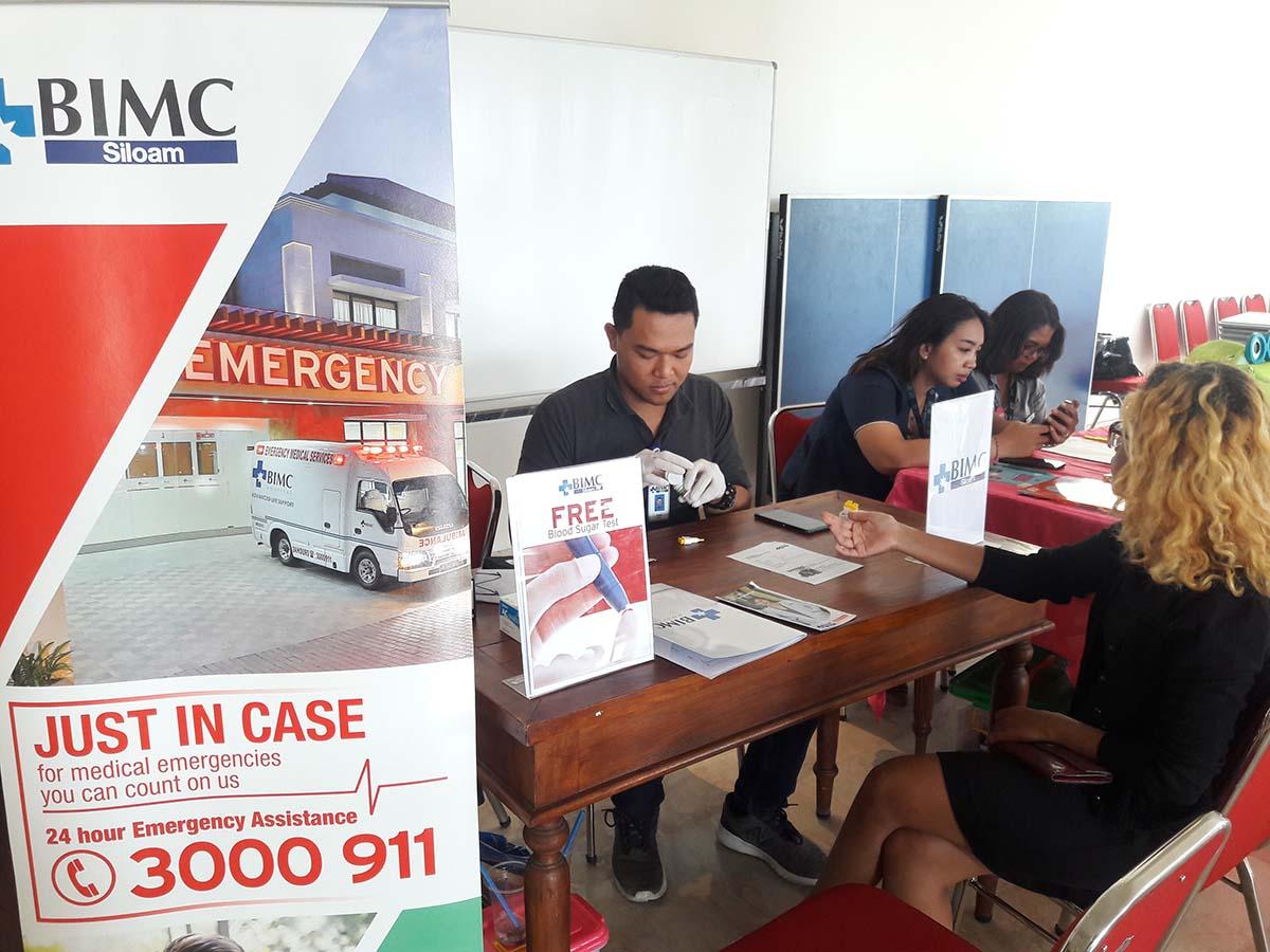 Bimc Hospital Nusa Dua Supports International School Grads