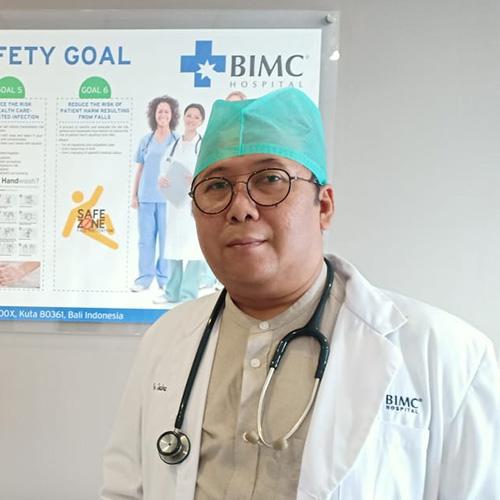 Dr. Dwi Yoga Bharata (digestive Surgeon)