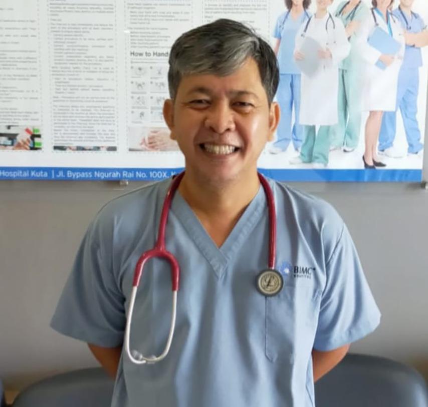 Dr. I Wayan Budi Artana, Sp. An